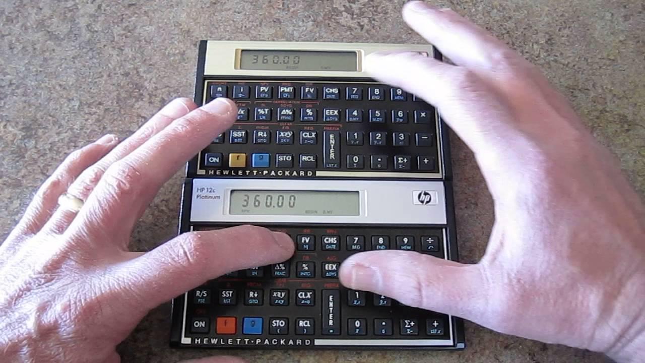 HP 12C Platinum financial calculator review
