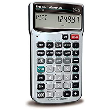 Calculated Industries 3405 RE Calculator