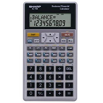 Sharp EL-738 FB Calculator