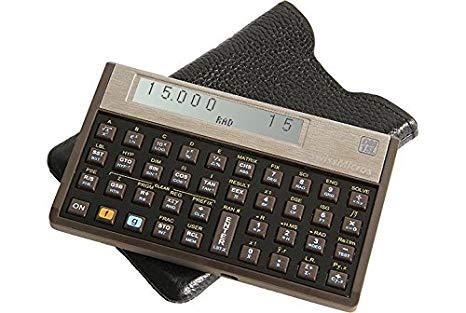 SwissMicros DM15L Financial Calculator